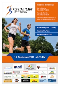 Altstadtlauf Rottenmann am Sa., 14. September 2019