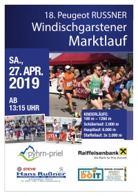 Windischgarstner Marktlauf am Sa., 22. September 2018